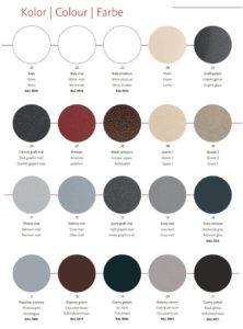 Pełna paleta kolorow Gorgiel