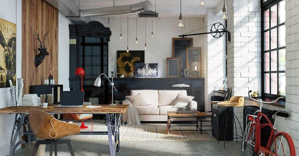 Industrialne grzejniki loft style