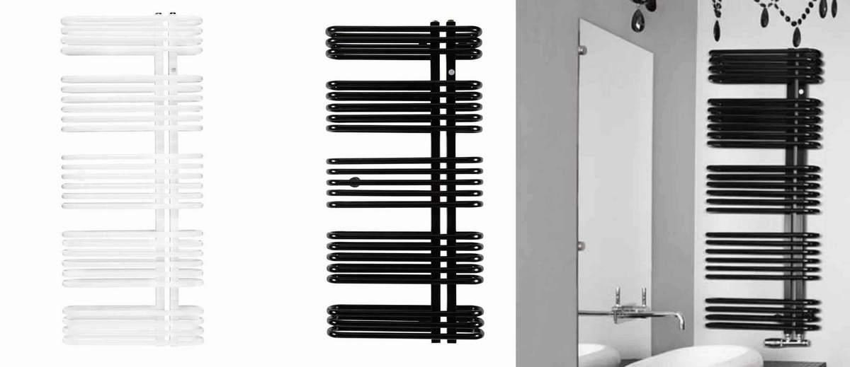 Podwójny grzejnik łazienkowy Instal Projekt Astro