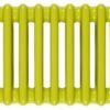 Grzejniki Tubus wersja pozioma w kolorze zielonym
