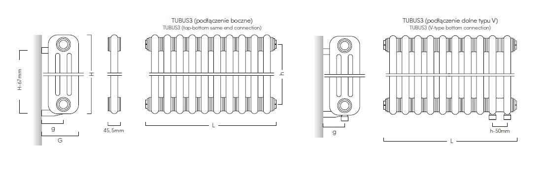 Tubus 3 -schemat podłączeń